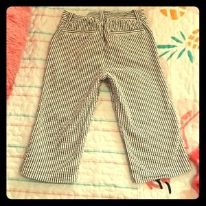 Crazy 8 Gray striped baby boy 18-24 month pant